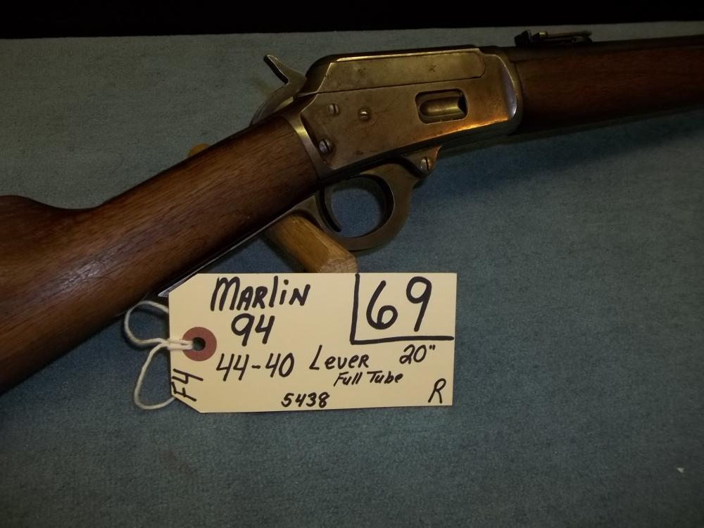 Marlin 94, 44-40. Lever, Full tube 5438 Req. Req.