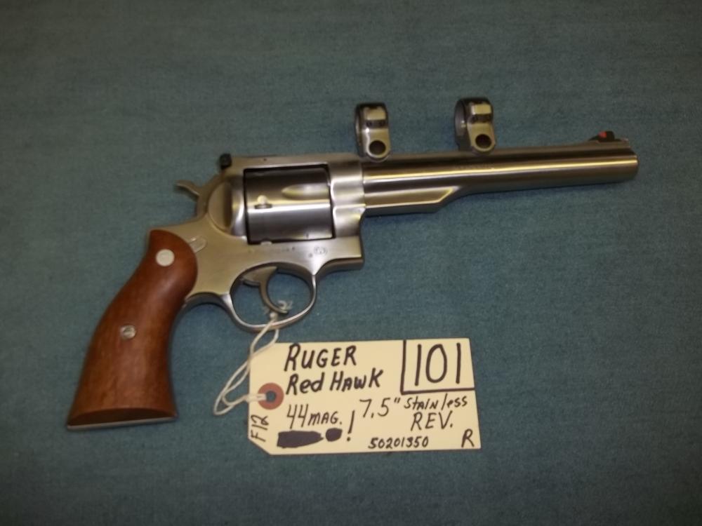 Ruger Red Hawk 44 Mag. SS. 50201350 Reg. Req.