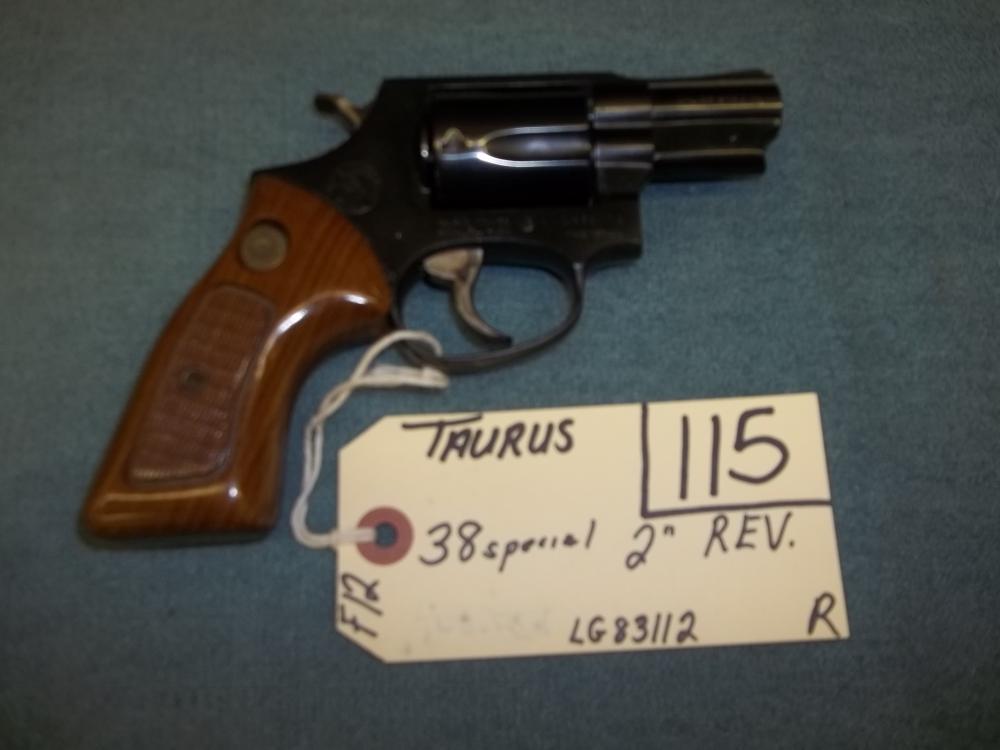 Taurus 38 Sp. LG83112 Reg. Req.