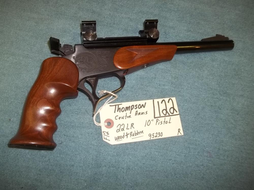 Thompson Center Arms 22 LR. 95230 Reg. Req.