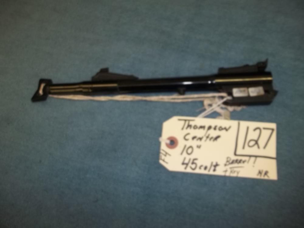 "Thompson Center 10"", 45 Colt Barrel and Key"