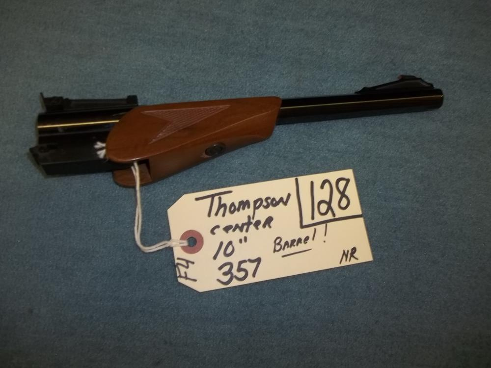 "Thompson Center 10"", 357 Barrel"