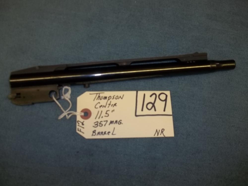 "Thompson Center 11.5"", 357 Mag. Barrel"