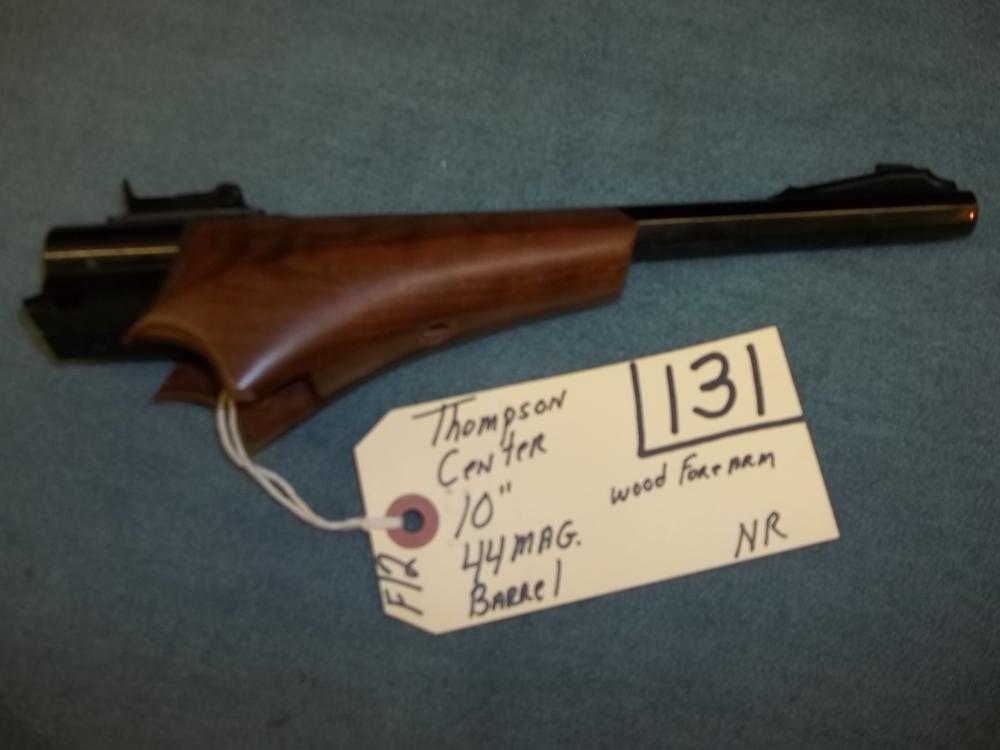 "Thompson Center 10"", 44 Mag. Barrel Wood Forearm"