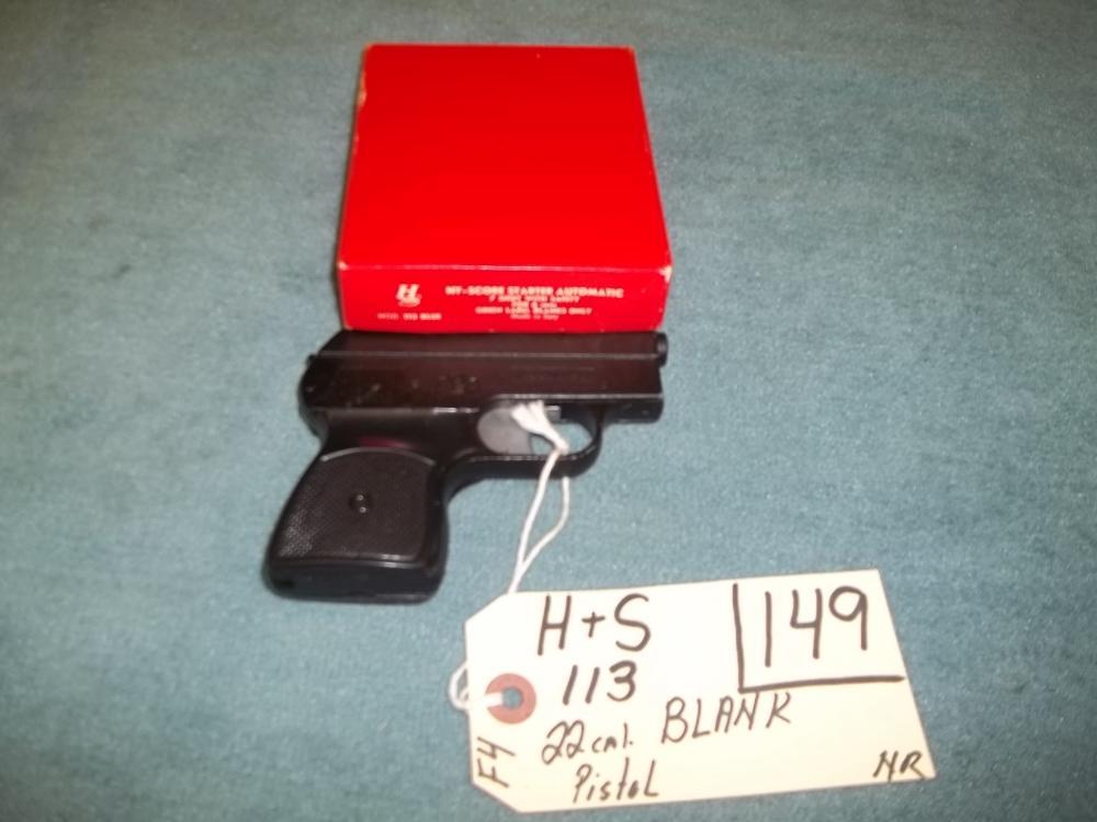 H&S 113, 22 Cal. Blank Pistol No Reg. Req.
