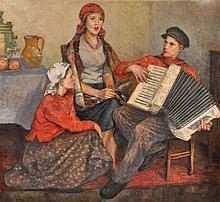 Bogdanov - Belsky, Nikolaj Petrovich (1868 Shitiki - 1945 Berlin),