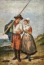 Block, Eugéne Francois de                         (1812 Geraardsbergen - 1893 Antwerpen),