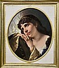 Porzellanmaler                                            (deutsch, 2. Hälfte 19. Jh.),, Gustav Karl Ludwig Richter, €1,900