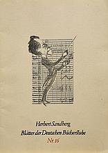 Sandberg, Herbert (1908 Posen - 1991 Berlin),