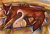 Antal, József                                        (1948 Szentistván - Ungarn),, Franz Marc, €700