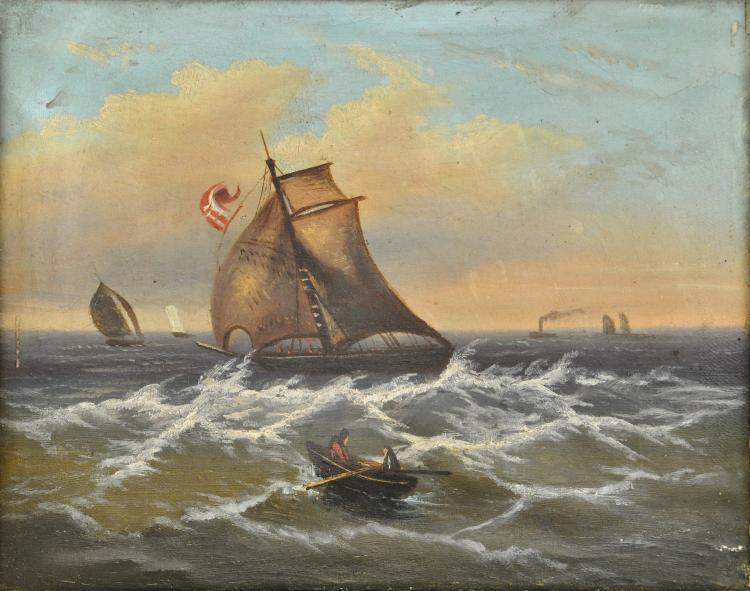 Marine painter (Germany, 19th century)