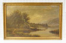1888 Henry Ottomar Herzog American Ladscape