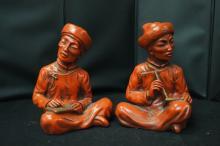 Cinnabar Figurines