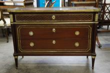 French Chest With Brass Gallery