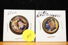 Elvis & Alex Rodriquez Quarters