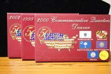 Commerative Quarters- 1999,2000,2002