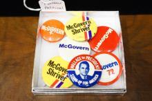 7 Political Buttons
