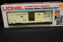 Lionel Electric Train- Lehigh Valley Box Car