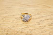 10k Diamond Cluster Size 7 1/2