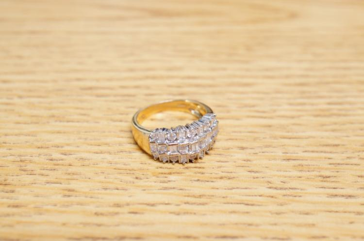 10k Diamond Ring Size 7
