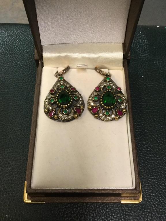 Sterling Turkish earrings