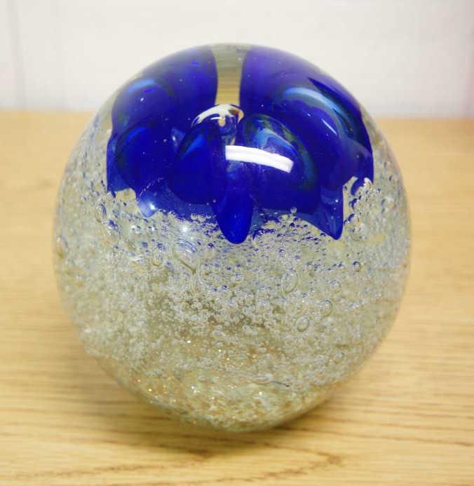 Murano Blue Flower