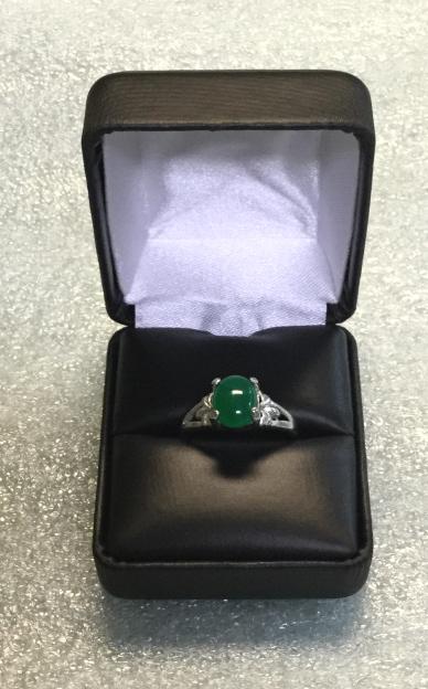 Jade ring size 9