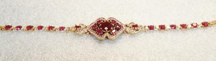 Sterling Ruby Bracelet