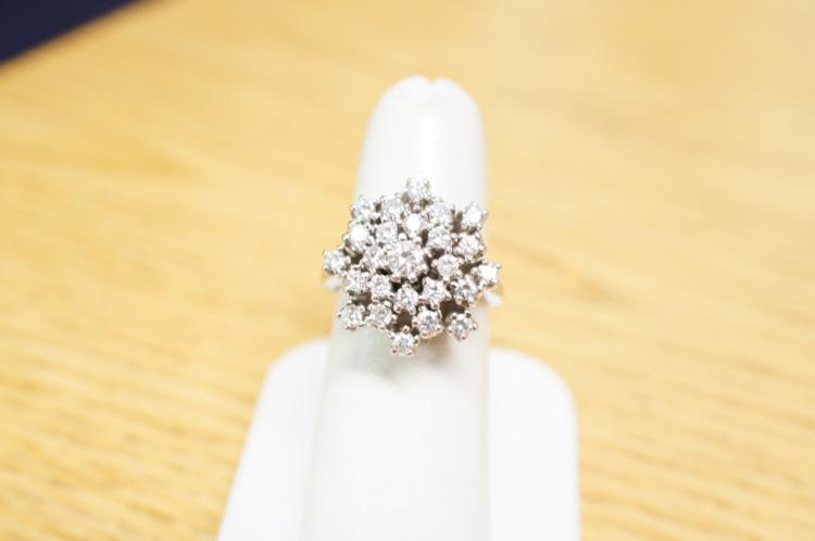 Diamond Ring Size 7 14kt