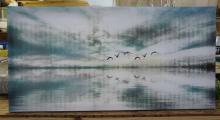 Art On Canvas Signed Parvez