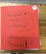 Binder Of Baseball Cards - 405 Cards
