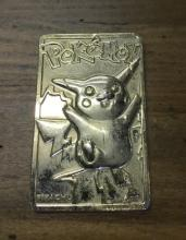 Pikachu Pokeman Gold Card