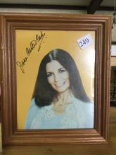 June Carter Cash Signed Picture 8x10
