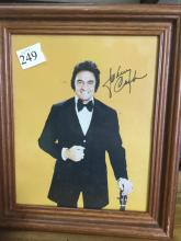 Johnny Cash Signed Picture 8x10