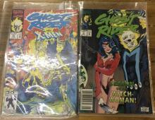 Ghost Rider #7, & 26, Xmen Dbl Signed Issue #166
