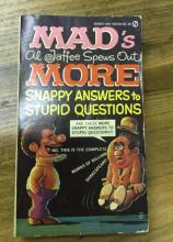 Mad's Snappy Answers 1972