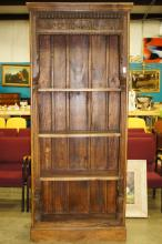 Tall Carved Bookcase