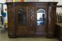 French Carved Bookcase