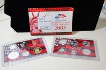 2005-s 90% Silver Proof Set