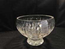 Crystal Waterford Bowl- Signed