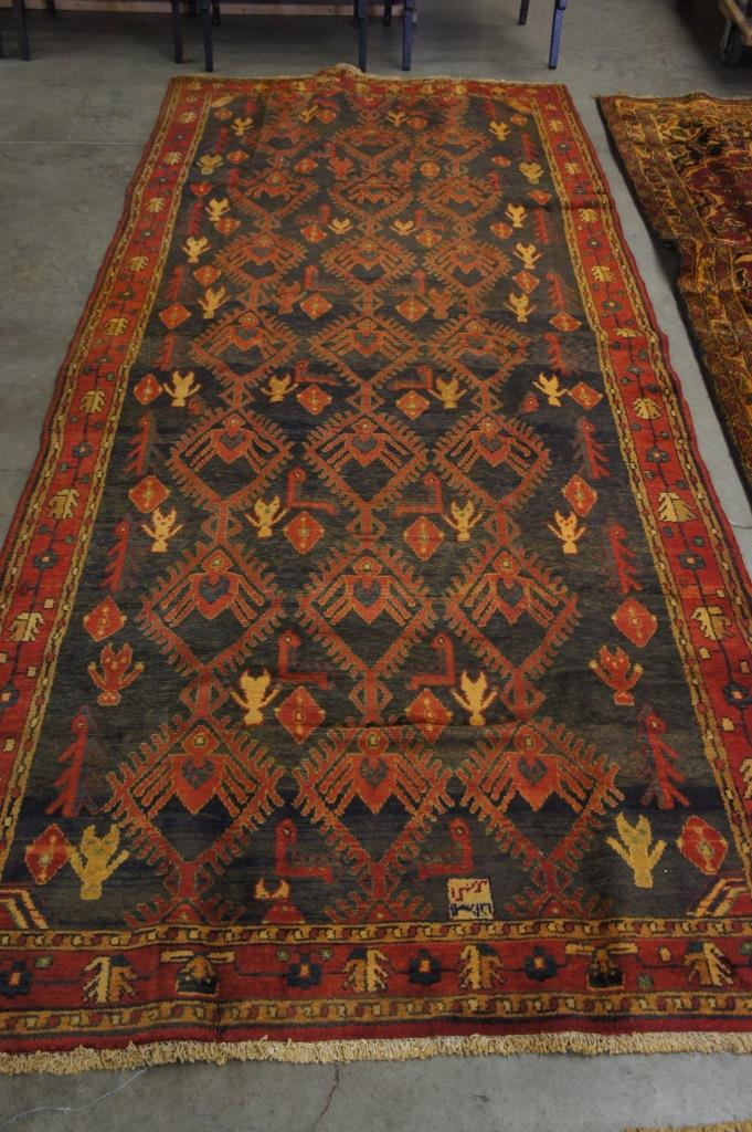 Handmade Persian Area Rug 4 5 X