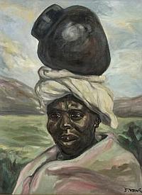 Dezso Koenig (South African 1902-1972) AFRICAN