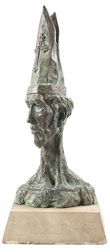 Wim Botha (South Africa 1974-) UNTITLED bronze on