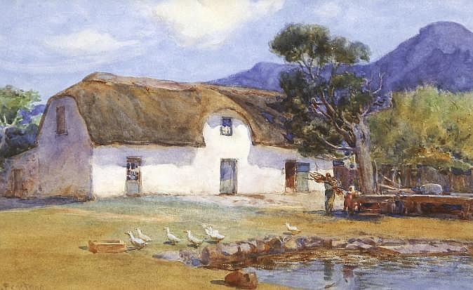 Constance Penstone (South African 1865-1928) DUCKS