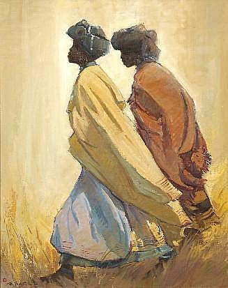 Titta Fasciotti (South African 1927-1993) TWO