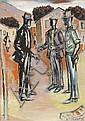 Gerard Sekoto (South African 1913-1993) TOWNSHIP, Gerard Sekoto, Click for value