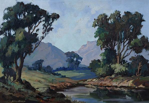 Johan (Johannes) Oldert (South African 1912-1984)