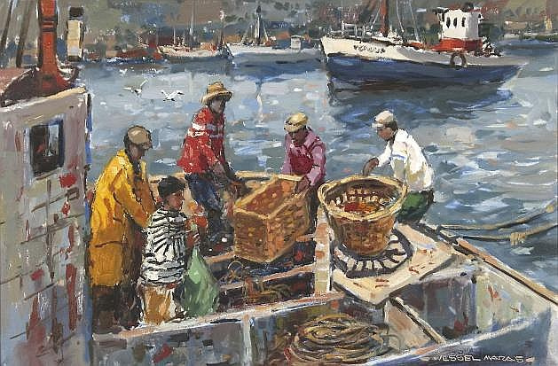 Wessel Marais (South African 1935-2009) SORTING