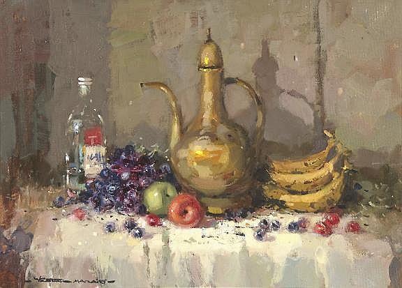 Wessel Marais (South African 1935-2009) STILL LIFE