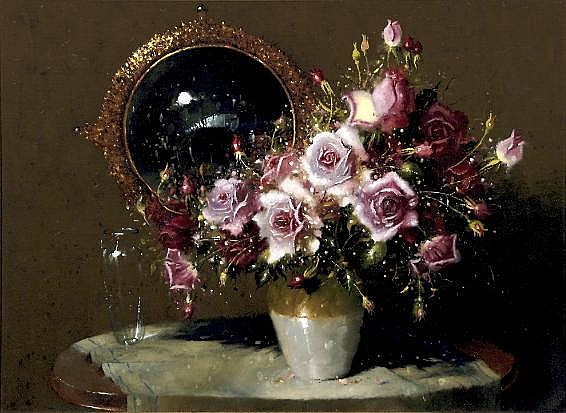 Hennie Griesel (South African 1931-) STILL LIFE